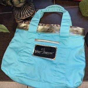 Vintage Style Betsy Johnson Purse Bag Tote